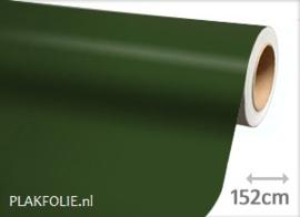 Mat legergroen (wrap) folie 152CM BREED x P/M