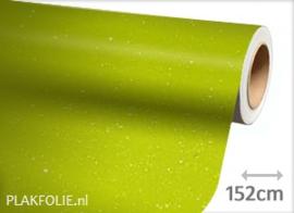 Diamant limoen groen (wrap) folie 152CM BREED x P/M