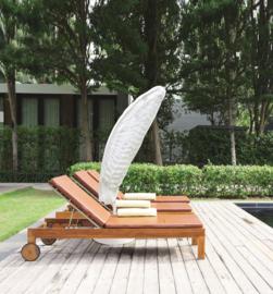 Beschermhoes CLASSIC voor o.a. een zweef-parasol. Afm: 200-400 cm