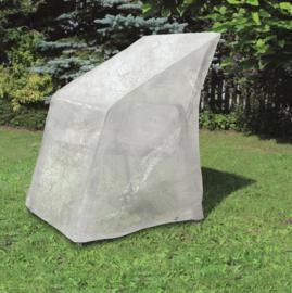 Beschermhoes CLASSIC voor o.a. een stapelstoel XXL. Afm: 65x65x150/110 cm