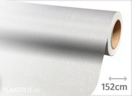 Diamant wit (wrap) folie 152CM BREED x P/M