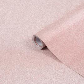 Glitter Rose/Roze Metallic 67,5CM x 200CM