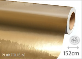Chroom goud (wrap) folie 152CM BREED x P/M