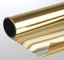 Goud Tint raamfolie - 50 / 100 of 150cm x P/M ZELFKLEVEND