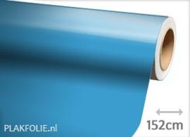 Glans licht blauw (wrap) folie 152CM