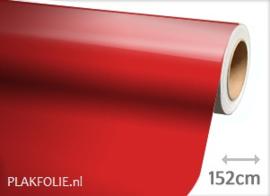 Glans rood (wrap) folie 152CM BREED x P/M