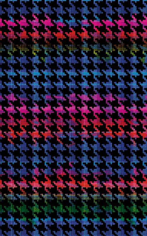 Velours folie ruit gekleurd 45CM x 120CM