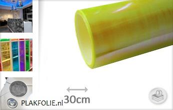 Flipflop geel tint folie 30CM