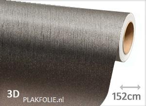 Brushed - anthraciet (wrap) 152CM