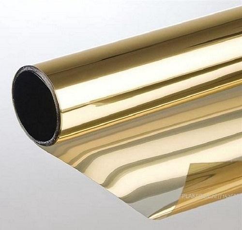 Link naar: Goud Tint raamfolie - 152cm x P/M ZELFKLEVEND