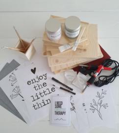 DIY Familie en Vrienden BOX - WOOD