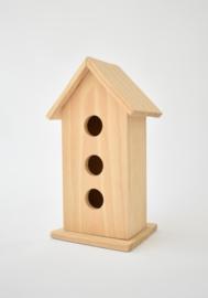 Houten vogelhuisje