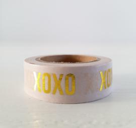 Washi tape Pink XOXO