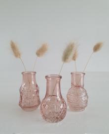 Mini vaasjes Vintage Pink