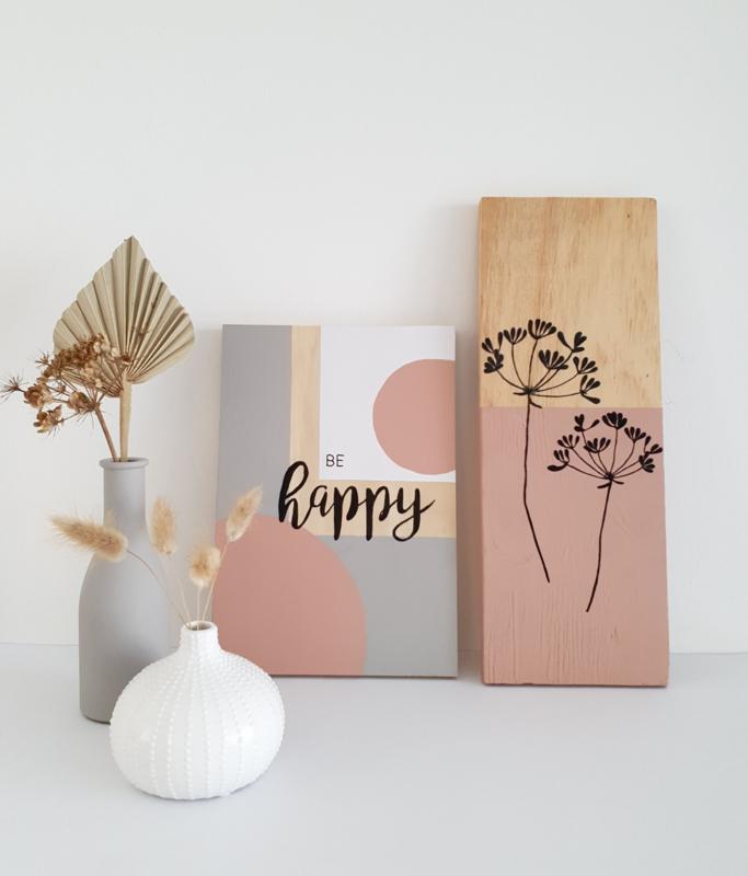 Handletteren op hout