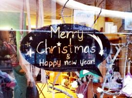 "Tekstwolk ""Merry Christmas..."""