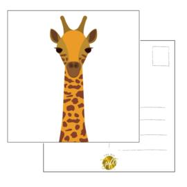 Woonkaart - giraf