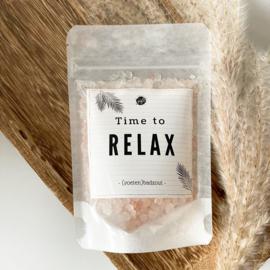 (Voeten) badzout -  Time to relax