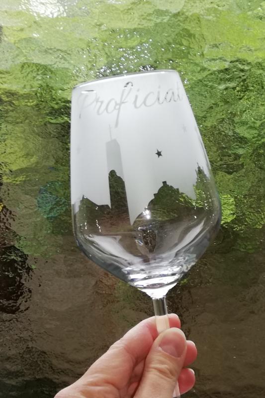 Skyline Venlo wijnglas