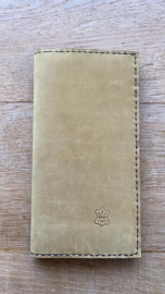 noteboek oker geel