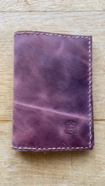 noteboek rood bruin
