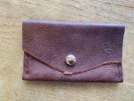 Portemonnee rood bruin