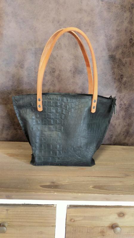 Chelsi-Bag zwart croco