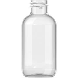 20 x 100 ml pet fles leeg met zwarte klepdop