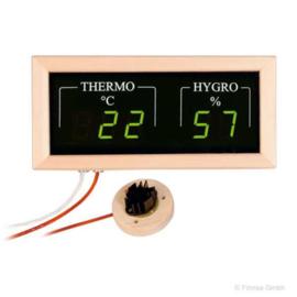 Elektroniche sauna thermo hygrometer