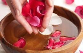 10 ltr. Rozenwater met orginele rosa damascena