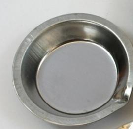 RVS Mengbakje - 7x2 cm