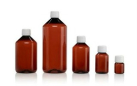 100 ml Bruine apothekersflacon voor waterkwaliteit test
