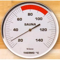 Sauna thermometer RVS