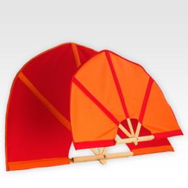 Oranje vlag 105cm