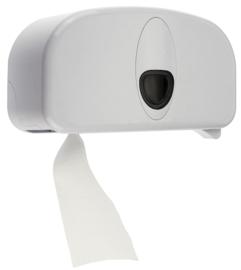 Toiletpapier dispensers wit- naast elkaar