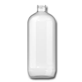 1 ltr. pet fles met witte flipdop