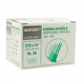 Neopoint steriele milia naalden