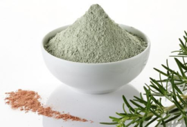 10 kg. Rasul groene klei aangemaakt - iwr formule