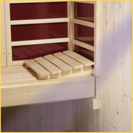 Sauna Hoofdsteun - 5 planken