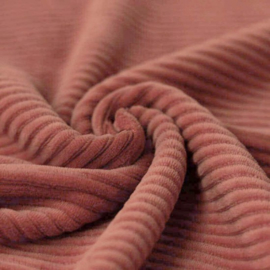 KNITTED CORDUROY | CLAY PINK