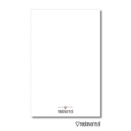 Mini-kaartje | Hartjes