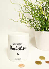 Spaarpot - Working on my bucketlist