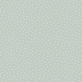 DOTTY TRICOT SOFT MINT JERSEY