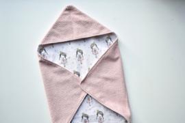 MiNi omslagdoek | roze - ballerina