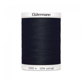 Gutermann alles naaigaren 1000mtr. zwart