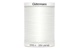 Gutermann alles naaigaren 1000mtr. wit