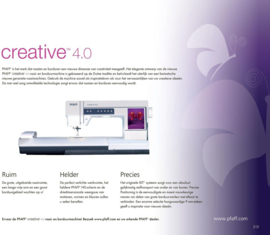 Pfaff creative 4.0