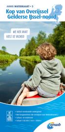 ANWB Waterkaart 5 Kop van Overijssel Gelderse IJssel Noord