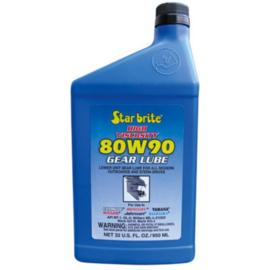 Starbrite Synthetische 80W90 Staartstukolie