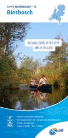 ANWB Waterkaart 15 Biesbosch